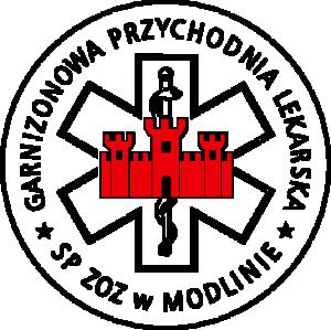 logo garnizonowej przychodni lekarskiej
